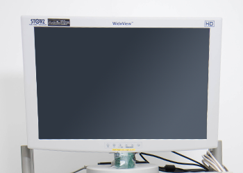 Laparoskopie-Instrumente-Monitor